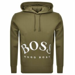 BOSS Athleisure Sly Hoodie Green