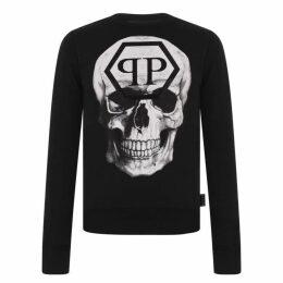 Philipp Plein Pp Skull Sweater
