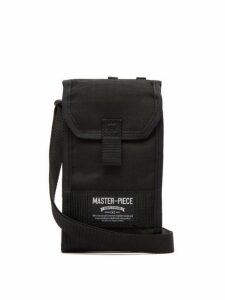 Master-piece - Camouflage-lined Cross-body Bag - Mens - Black