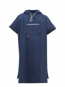 Boramy Viguier - Cotton Blend Faille Cape - Mens - Navy