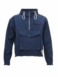 Boramy Viguier - Trooper Faille Zip Jacket - Mens - Navy
