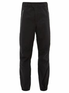 Boramy Viguier - Technical Twill Straight Leg Track Pants - Mens - Black