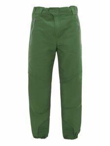 Boramy Viguier - Hiking Cotton Blend Faille Track Pants - Mens - Green