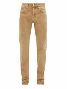 Helmut Lang - Masc Hi Cotton Straight Leg Jeans - Mens - Beige