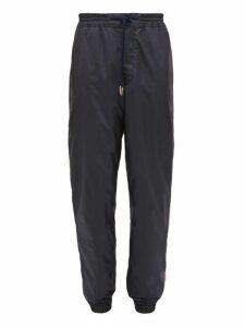 Thom Browne - Tricolour Stripe Track Pants - Mens - Navy
