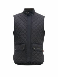 Belstaff - Diamond Quilted Gilet - Mens - Navy