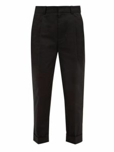 Acne Studios - Pierre Cotton Chino Trousers - Mens - Black