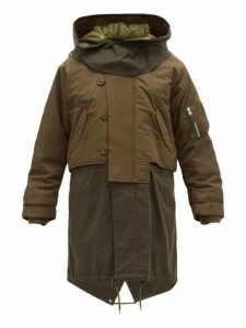 Burberry - Barkby Technical Nylon Hooded Parka - Mens - Khaki