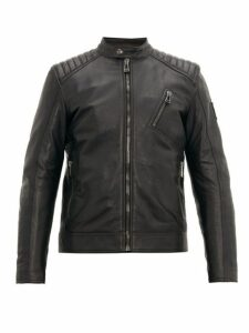 Belstaff - V Racer Leather Jacket - Mens - Black