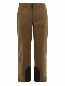 Acne Studios - Paxton Side Zip Straight Leg Trousers - Mens - Khaki