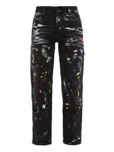 Off-white - Paint Splatter Jeans - Mens - Multi