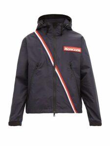 Moncler - Trakenhner Tricolour Stripe Technical Jacket - Mens - Navy