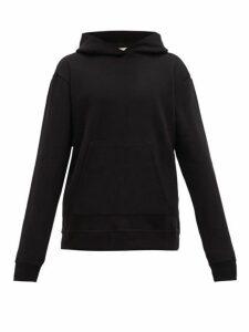John Elliott - Hooded Villain Loop Back Cotton Jersey Sweatshirt - Mens - Black