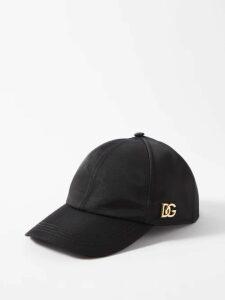 Moncler - Logo Print Technical Cotton Jersey Sweater - Mens - Black