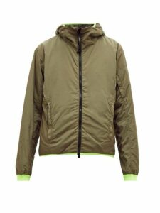 C.p. Company - Contrast Trim Hooded Jacket - Mens - Khaki