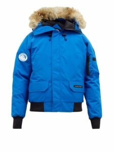 Canada Goose - Chilliwack Down Filled Hooded Coat - Mens - Blue