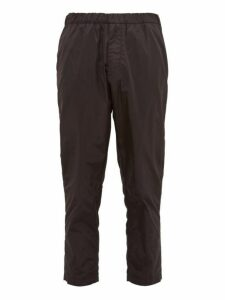 Prada - Nylon Straight Leg Track Pants - Mens - Black