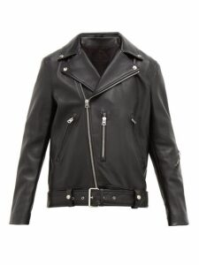 Acne Studios - Nate Leather Biker Jacket - Mens - Black