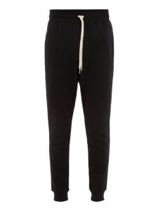 John Elliott - Mid Rise Cotton Track Pants - Mens - Black