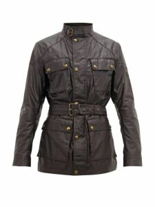 Belstaff - Trialmaster Waxed Cotton Field Jacket - Mens - Burgundy