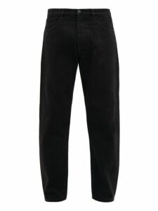 Prada - Used Wash Straight Leg Jeans - Mens - Black