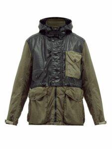 C.p. Company - Goggle Hooded Parka - Mens - Black Green