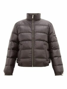 Prada - Quilted Down Bomber Jacket - Mens - Black Green