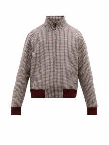 Prada - Checked Virgin Wool Harrington Jacket - Mens - Multi
