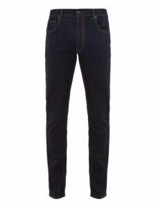 Prada - Slim Leg Stretch Denim Jeans - Mens - Navy