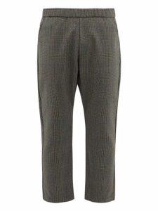 Barena Venezia - Arenga Prince Of Wales Check Virgin Wool Trousers - Mens - Grey Multi