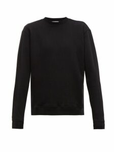 John Elliott - Oversized Loop Back Cotton Jersey Sweatshirt - Mens - Black