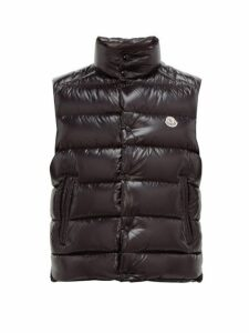 Moncler - Tib Quilted Down Gilet - Mens - Black