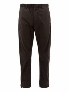 Prada - Side Zipped Nylon Track Pants - Mens - Black