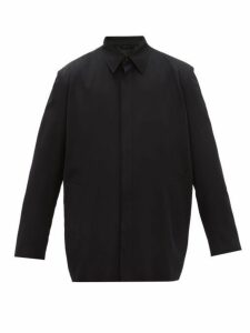 Balenciaga - Oversized Twill Jacket - Mens - Black