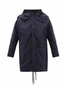 Y/project - Hooded Cotton Parka - Mens - Navy