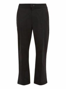 Acne Studios - Paxton Straight Leg Technical Track Pants - Mens - Black
