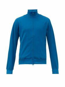 Y-3 - Classic Logo Print Track Jacket - Mens - Blue