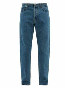 Séfr - Straight Leg Jeans - Mens - Blue