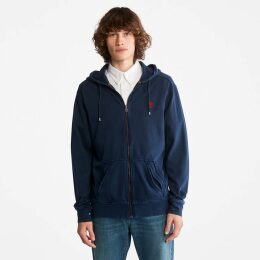 Timberland Bradstreet Leather Chukka For Men In Navy Navy, Size 13.5