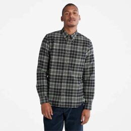 Timberland Plaid Scarf In Yellow Yellow Men, Size ONE