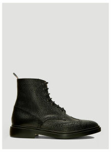 Thom Browne Wingtip Brogue Boots in Black size US - 11