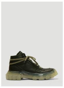 Rick Owens Larry Tractor Sneakers in Black size EU - 45