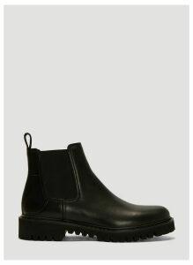 Valentino Go Logo Beatle Boots in Black size EU - 45