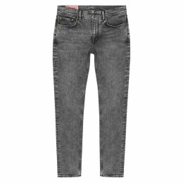 Acne Studios North Black Grey Slim-leg Jeans