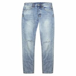 Ksubi Wolf Gang Distressed Slim-leg Jeans