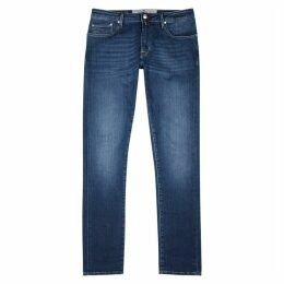 Jacob Cohën Blue Slim-leg Jeans