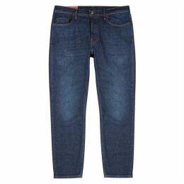 Acne Studios River Dark Blue Slim-leg Jeans