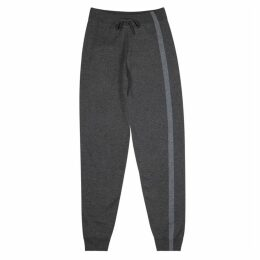 Corneliani Grey Cotton-blend Sweatpants