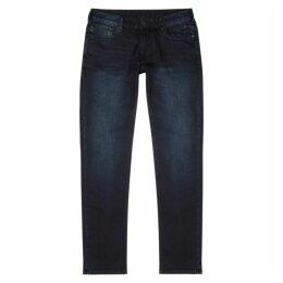 Emporio Armani J06 Indigo Slim-leg Jeans