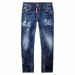 Dsquared2 Skater Guy Blue Skinny Jeans